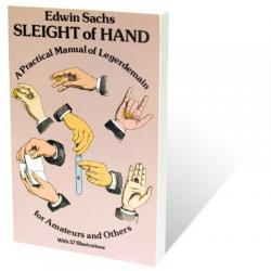 Sleight Of Hand Book by Edwin Sachs - Book wwww.magiedirecte.com