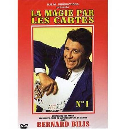 BILIS BERNARD - LA MAGIE PAR LES CARTES N°1 - DVD wwww.magiedirecte.com