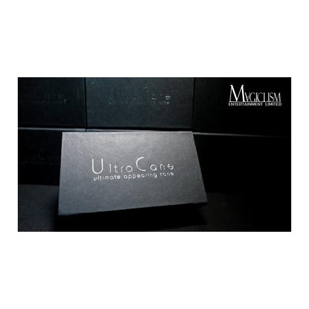 The Ultra Cane (Appearing / Metal) Black by Bond Lee - Trick wwww.magiedirecte.com
