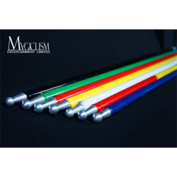The Ultra Cane (Appearing / Metal) Rainbow by Bond Lee - Trick wwww.magiedirecte.com