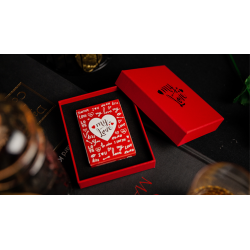 My Love Playing Card (Numbered Seals) by TCC Presents wwww.magiedirecte.com