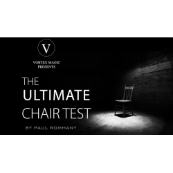Vortex Magic Presents Ultimate Chair Test (Gimmicks and Online Instructions) by Paul Romhany - Trick wwww.magiedirecte.com