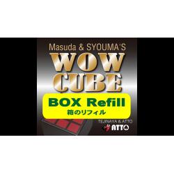 WOW CUBE REFILL BOX by Tejinaya Magic - Trick wwww.magiedirecte.com