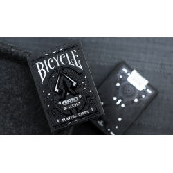 Limited Edition Bicycle Grid Blackout Playing Cards wwww.magiedirecte.com