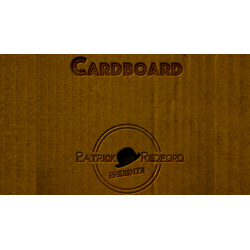 CARDBOARD The Book by Patrick G. Redford - Book wwww.magiedirecte.com
