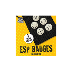 ESP Badges by Liam Montier and Kaymar Magic wwww.magiedirecte.com