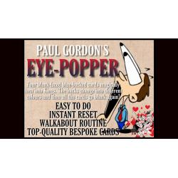 EYE POPPER de Paul Gordon  - Tour de cartes magie wwww.magiedirecte.com