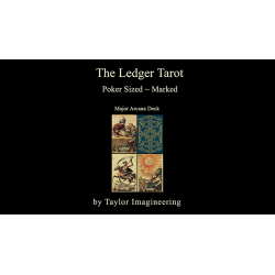 Ledger Major Arcana Deck  (1 Jeu Format poker) de Taylor Imagineering wwww.magiedirecte.com