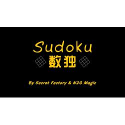 Sudoku de Secret Factory & N2G Magic. wwww.magiedirecte.com