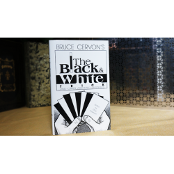 Bruce Cervon's The Black and White Trick and other assorted Mysteries by Mike Maxwell - Book wwww.magiedirecte.com