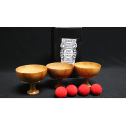 India Cups and Balls by Zanders Magical Apparatus - Trick wwww.magiedirecte.com