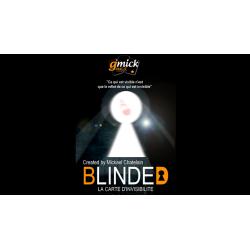 BLINDED Rouge  de Mickael Chatelain - Tour de magie wwww.magiedirecte.com