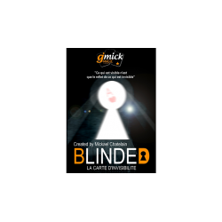 BLINDED Bleu de Mickael Chatelain - Tour de Magie wwww.magiedirecte.com