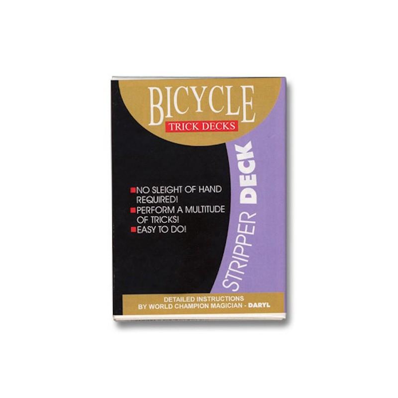 Jeu Biseauté Bicycle Rouge wwww.magiedirecte.com