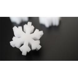 SNOWFLAKE SPONGES de Hugo Choi - accessoires de magie wwww.magiedirecte.com
