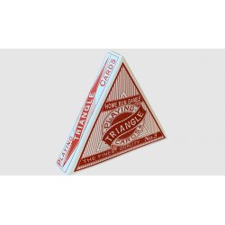 jeu de cartes Triangle (Rouge) wwww.magiedirecte.com