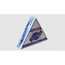 Jeu de cartes Triangle (Bleu) wwww.magiedirecte.com