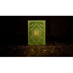 jeu de cartes Chao (Vert)  by MPC wwww.magiedirecte.com