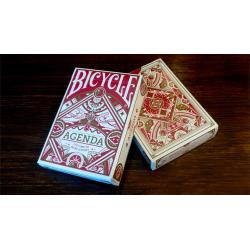 Bicycle Agenda Red Basic Edition wwww.magiedirecte.com