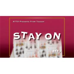 STAY ON by Touson & Katsuya Masuda (Gimmick and Online Instructions) - Trick wwww.magiedirecte.com