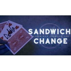 Sandwich Change - SansMinds Creative Labs - DVD Gimmick wwww.magiedirecte.com