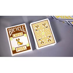 Jeu de Cartes Bicycle Pixel (Chien) - TCC wwww.magiedirecte.com