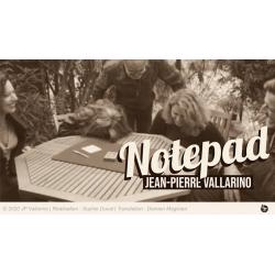 The Notepad - Jean-Pierre Vallarino - Tour de Magie wwww.magiedirecte.com