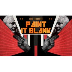 John Bannon's PAINT IT BLANK wwww.magiedirecte.com