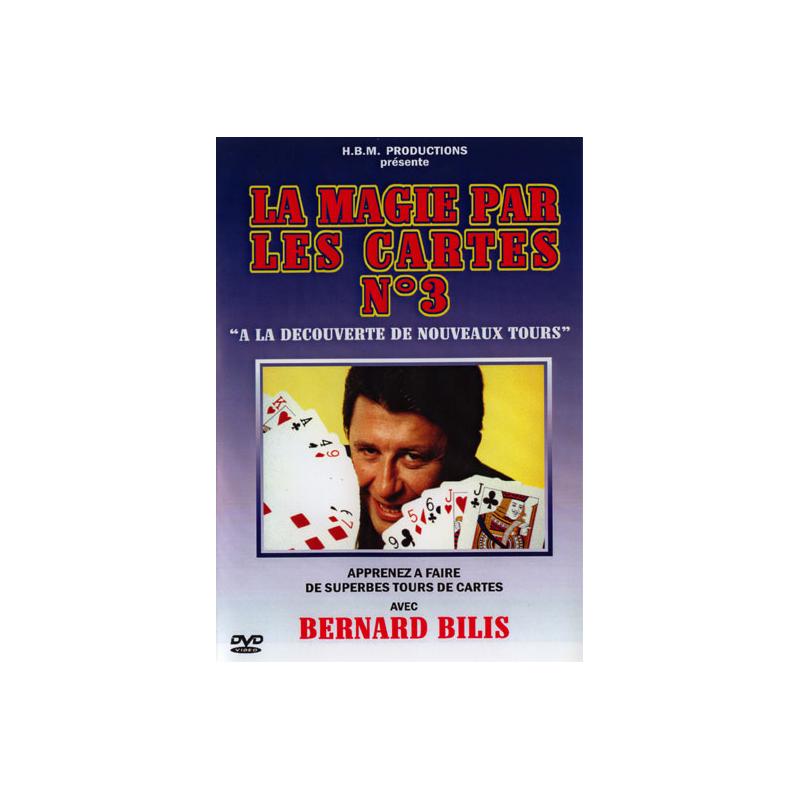 BILIS BERNARD - LA MAGIE PAR LES CARTES N°3 - DVD wwww.magiedirecte.com