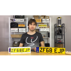 LICENSE PLATE PREDICTION - UNITED KINGDOM (Gimmicks and Online Instructions) by Martin Andersen - Trick wwww.magiedirecte.com