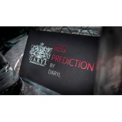 The Red Prediction -DARYL- Tour de Magie wwww.magiedirecte.com
