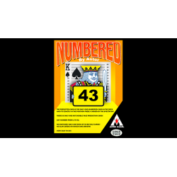 NUMBERED by Astor - Trick wwww.magiedirecte.com