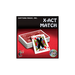 X-ACT Match-Daytona Magic - Tour de Magie wwww.magiedirecte.com