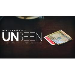 UNSEEN Bleu (Gimmick and Online Instructions)- Manoj Causal - Tour de Magie wwww.magiedirecte.com