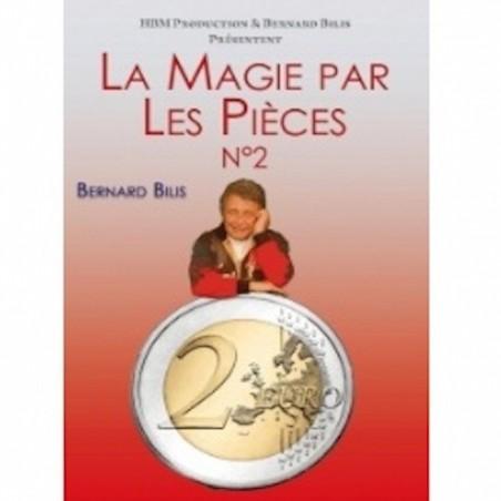 DVD La magie par les pièces Vol.2 - Bernard Bilis wwww.magiedirecte.com