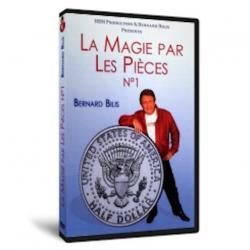 DVD La magie par les pièces Vol.1 - Bernard BILIS wwww.magiedirecte.com