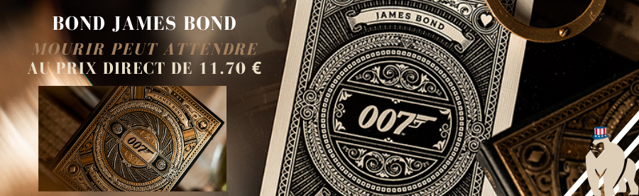 JAMES BOND 007 CARTES DE MAGIE