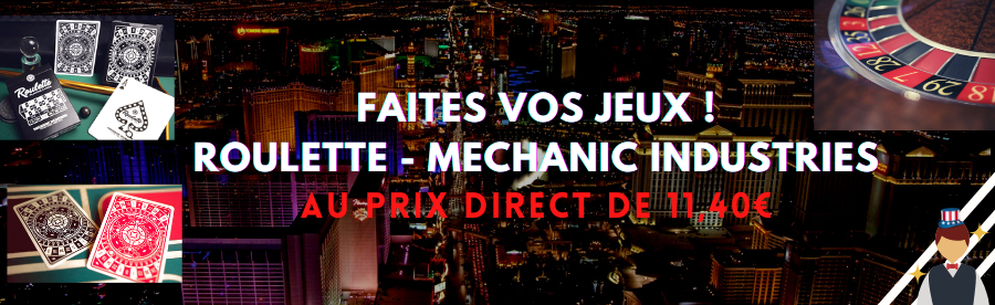 JEU DE CARTES ROULETTE MECHANIC INDUSTRIES